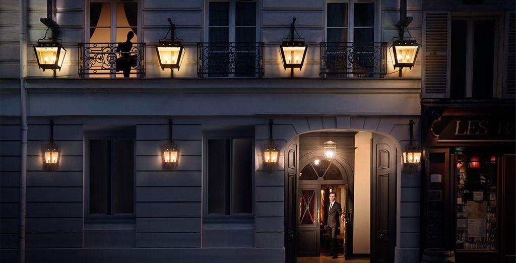 Lasciatevi affascinare da questo sontuoso albergo