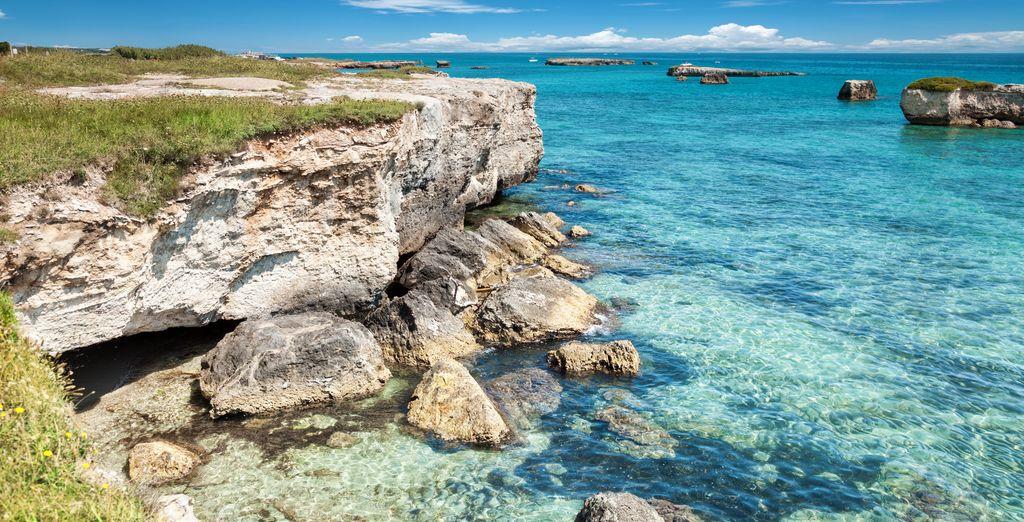 Tra le bellezze e gli scenari unici della Puglia.