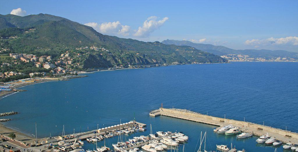 Una struttura direttamente affacciata sul Mar Tirreno che terrà lontani cattivi pensieri e stress.