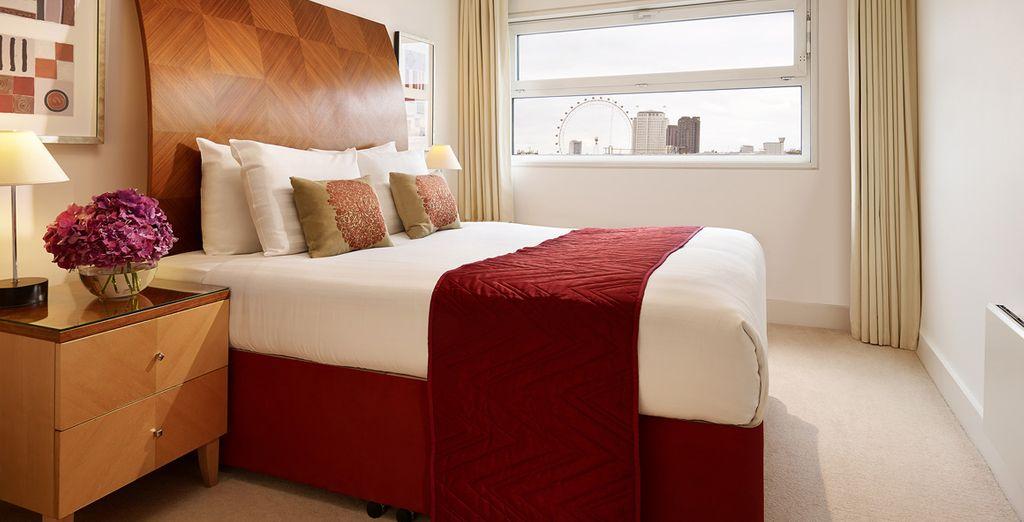 Con ampie camere da letto