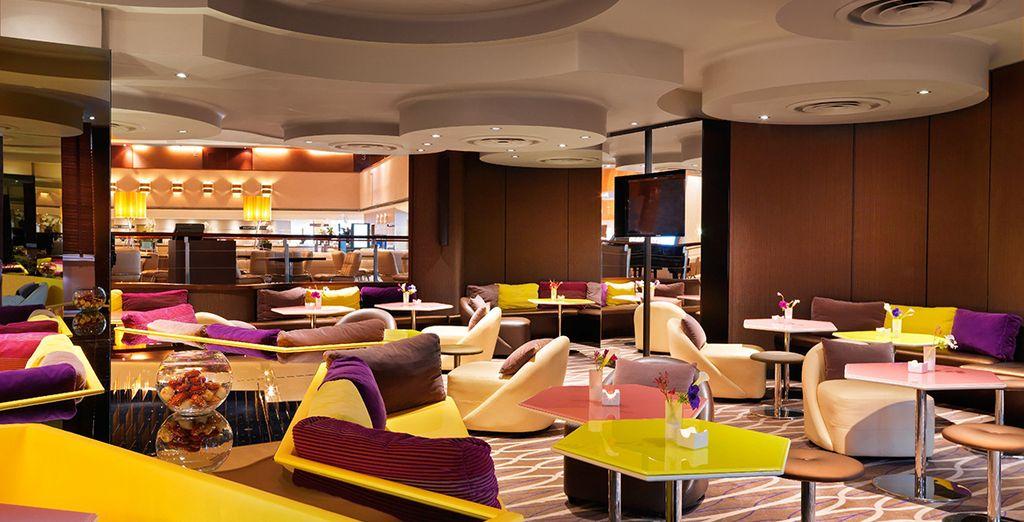 Rilassatevi nei moderni spazi dell'hotel