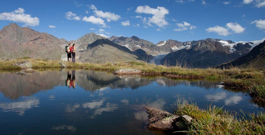 Ammirate la bellissima natura incontaminata del Tirolo