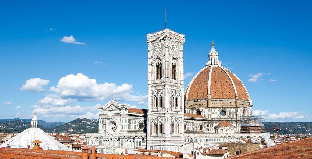 Nei caldi pomeriggi lasciatevi affascinare dalla vista panoramica sulla città di Firenze