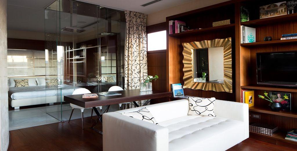 Troverete moderni appartamenti