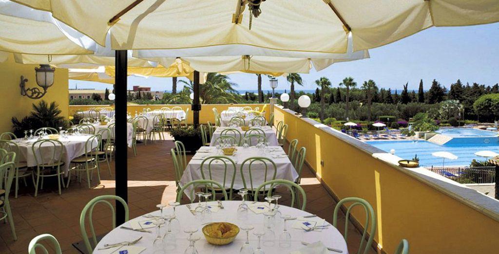 E gustate i piatti tipici della squisita tradizione siciliana
