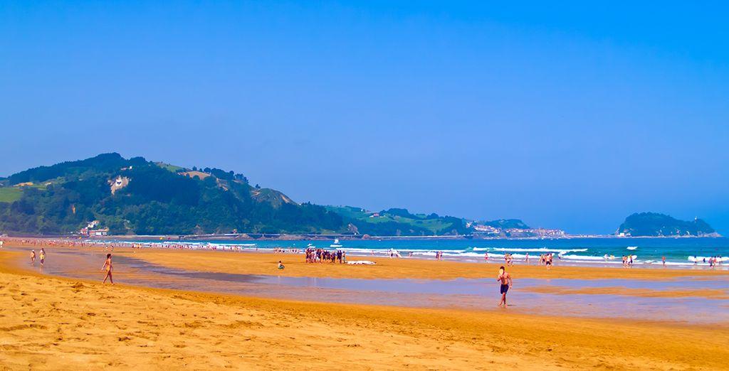 e quello di Zarautz con la sua spiaggia di 2 km