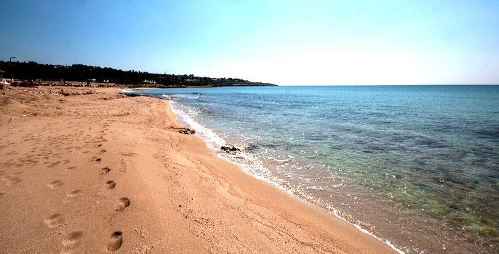 Lasciatevi incantare dalle lunghe spiagge di sabbia finissima