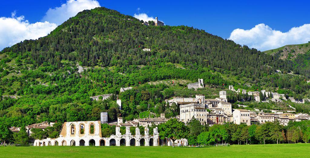 Prima di partire alla scoperta della bellissima Gubbio.