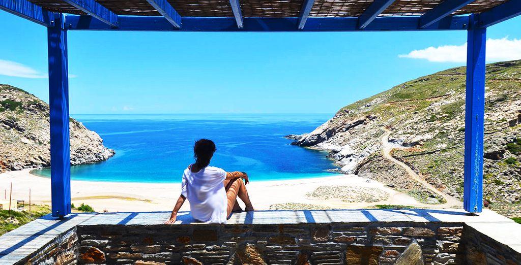 Preparatevi a scoprire un meraviglioso hotel affacciato sul mar Egeo