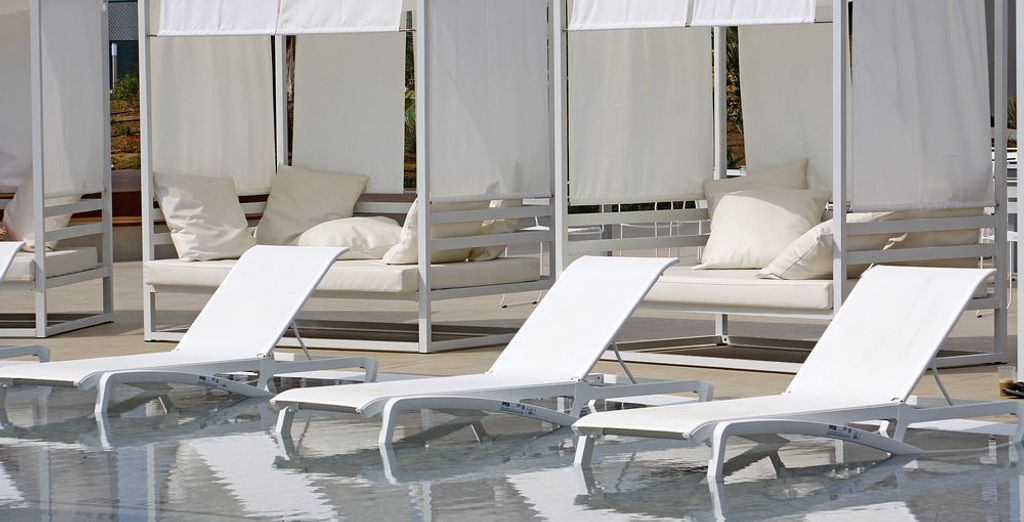 Rilassatevi e godetevi il caldo sole