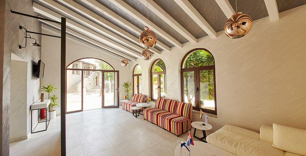 Resort moderno ed raffinato