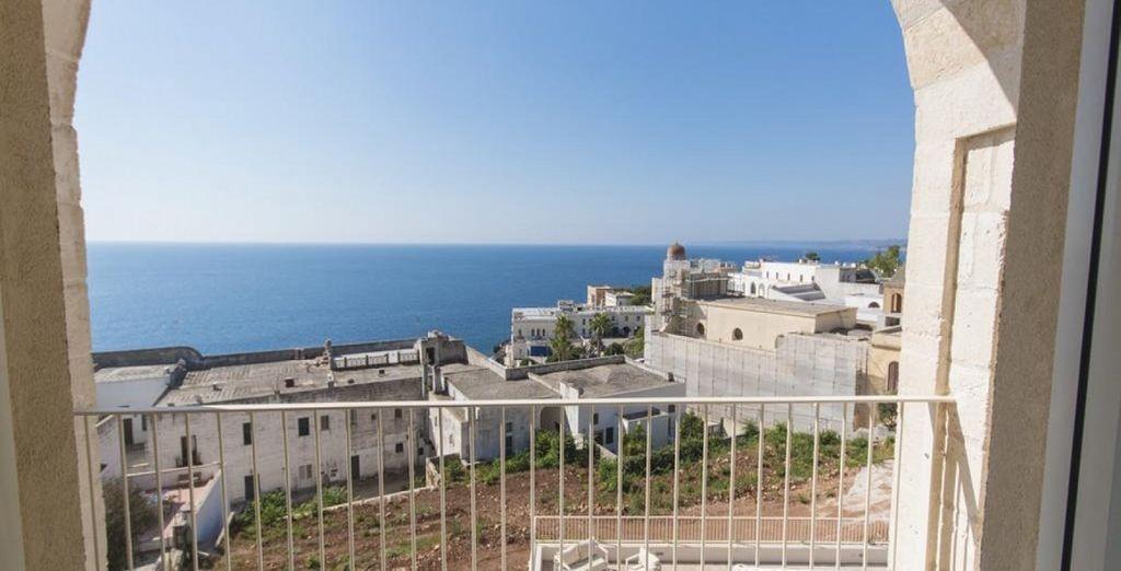 Una terrazza che offre panorami unici