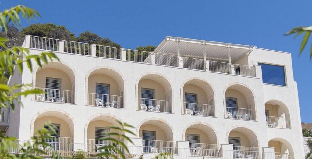 L'Est Hotel Santa Cesarea Terme 4* vi attende