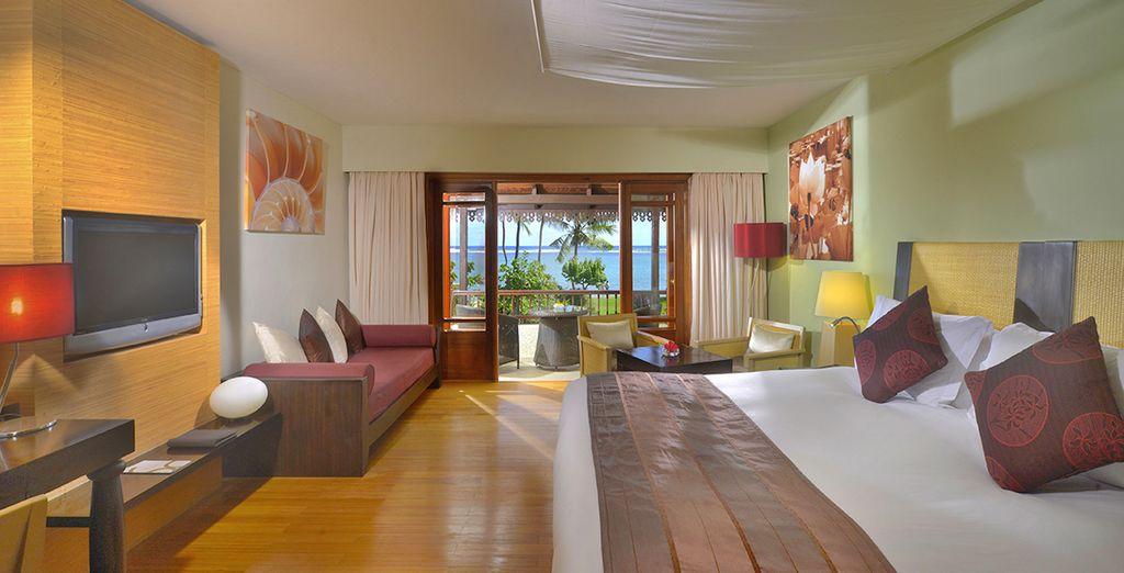 Soggiornerete in splendide camere Luxury