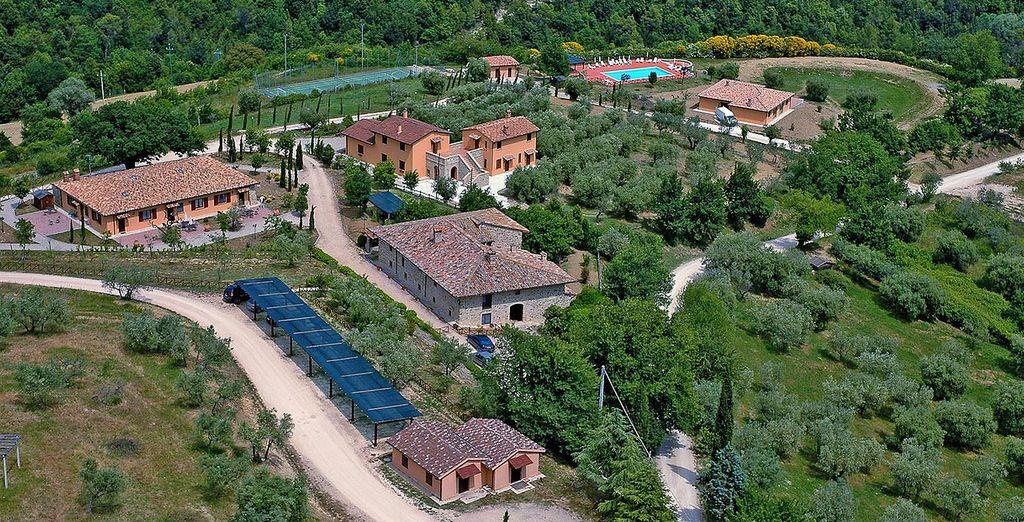 Soggiornerete in questa splendida struttura che si divide in Dèpendance, Antico e Nuovo Casale