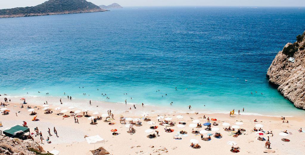 Dove troverete spiagge bellissime e un mare da sogno.