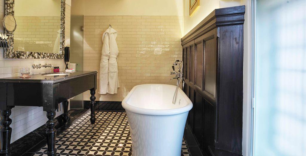 Bagni in marmo e in pietra definiscono stile e raffinatezza