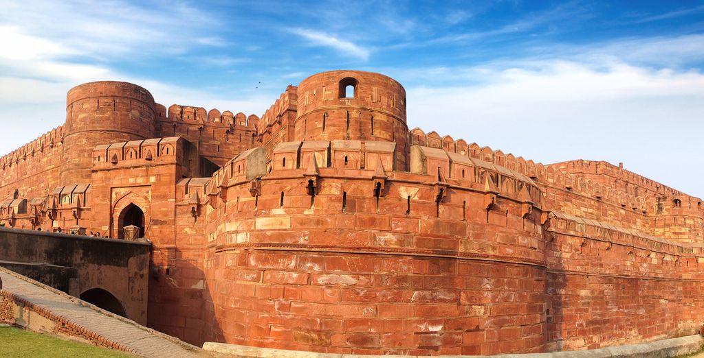L'antico Forte Rosso di Agra