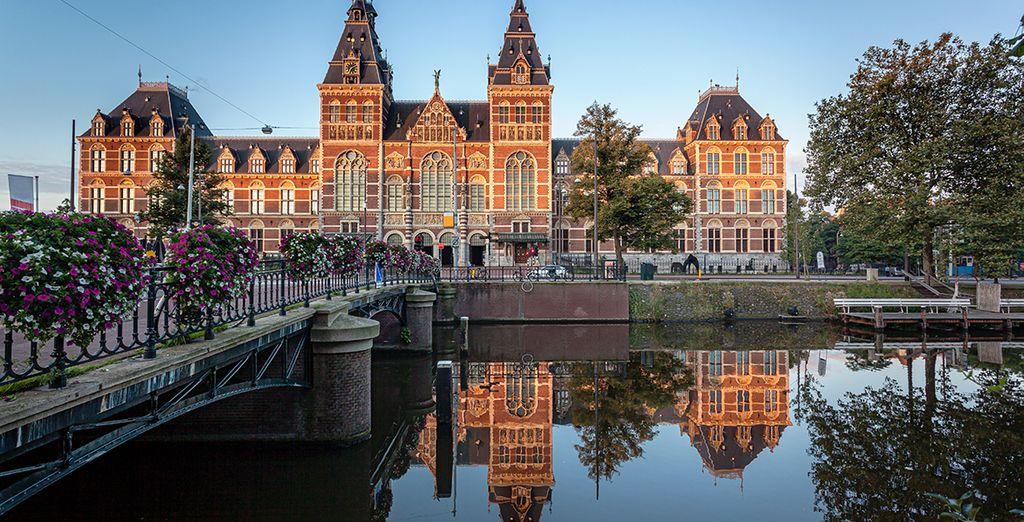 Partite alla scoperta dei canali e del quartiere dei Musei