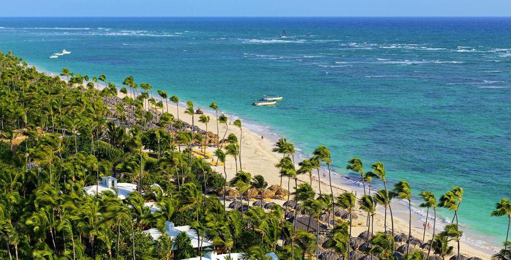 Qui vi accoglie l'Iberostar Dominicana 5* situato sulla splendida Playa Bávaro