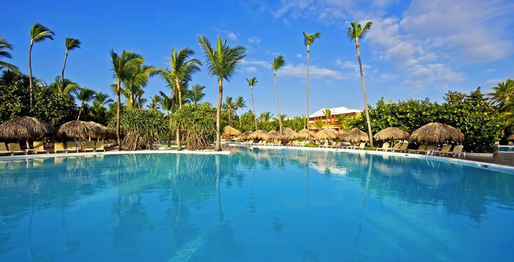 Rilassatevi in piscina durante le giornate più calde