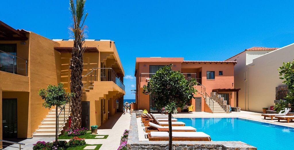 Un moderno resort dalle strutture e servizi di qualità