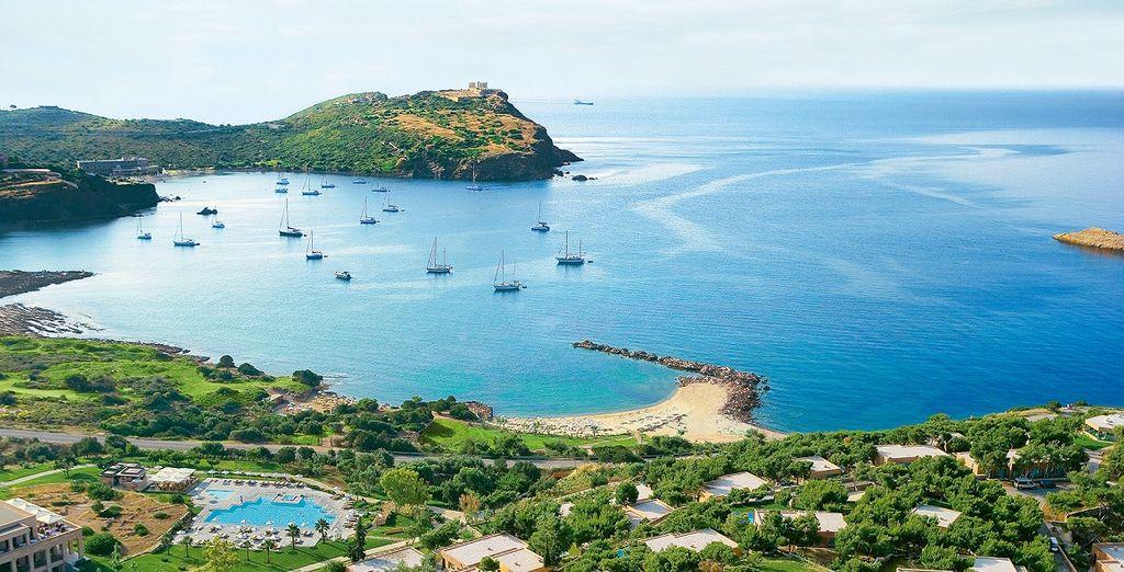 Benvenuti a Cape Sounio, splendida località balneare nel cuore della Grecia