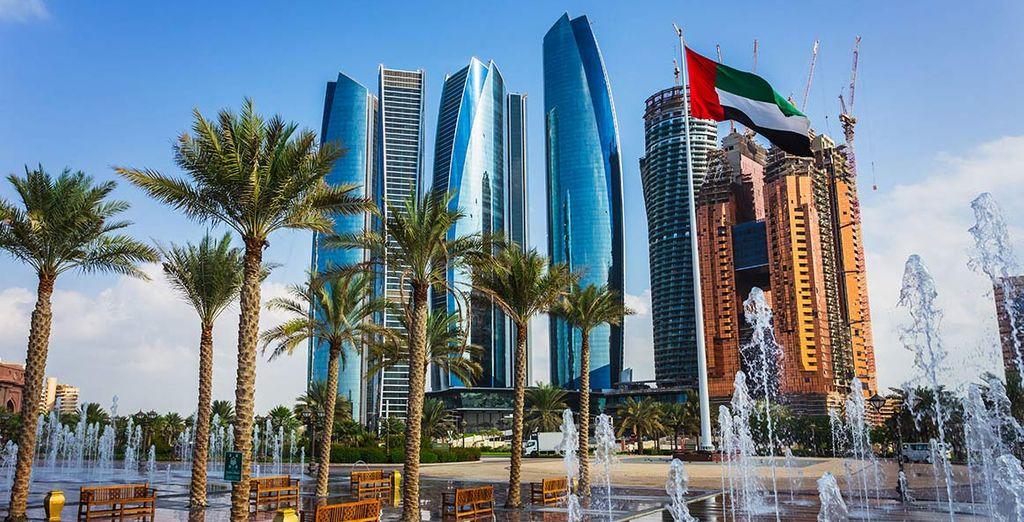 Godetevi questa splendida città emira.