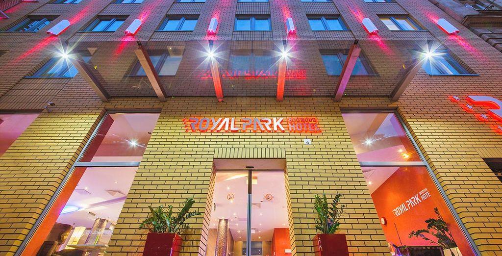 Il Royal Park Boutique Hotel 4* vi aspetta