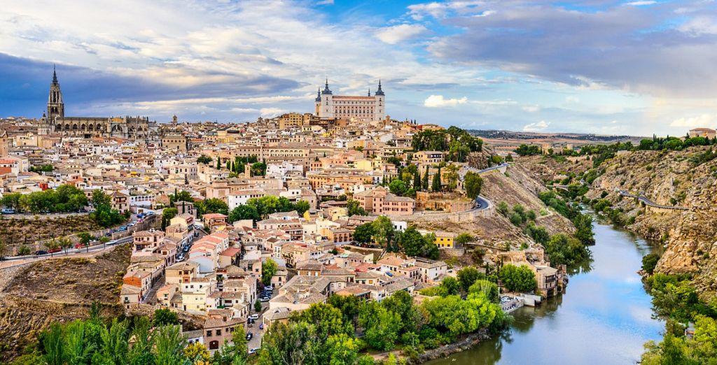 A Toledo avrete la possibilità di visitare la cattedrale e le chiese di Santo Tome e Santa Maria la Blanca