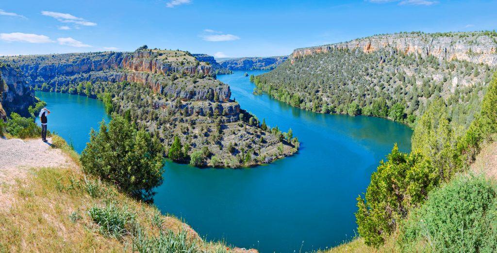 Lasciatevi affascinare dalla bellezza del fiume Duratón, in provincia di Segovia