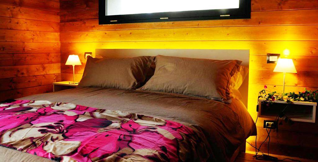 Soggiornerete in confortevoli bungalow
