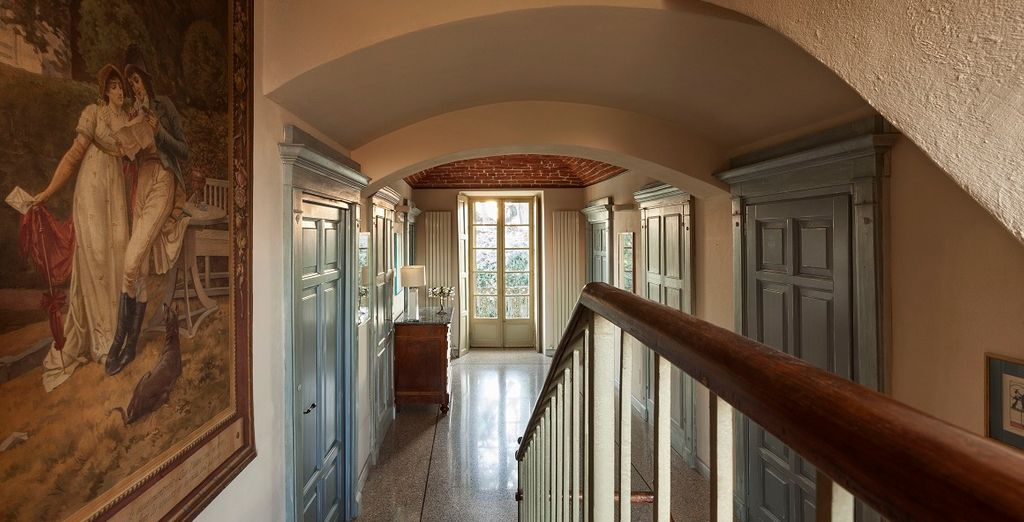 Una struttura fine dagli interni classici