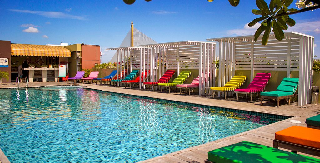 Qui soggiornerete in un moderno boutique hotel alla moda: il Nouvo City Hotel 4*