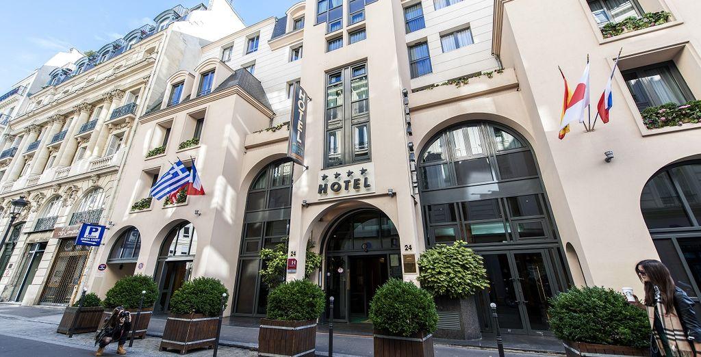 soggiornerete all'Hotel Opéra Cadet 4*