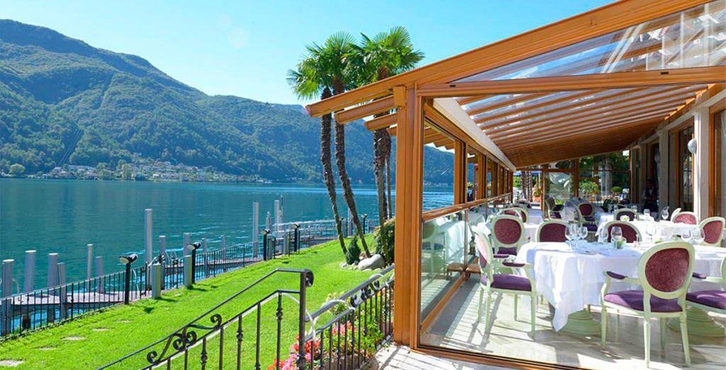 soggiornerete allo Swiss Diamond Hotel 5*