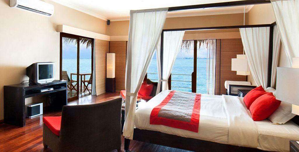 oppure potrete godere delle splendide Ocean Villa