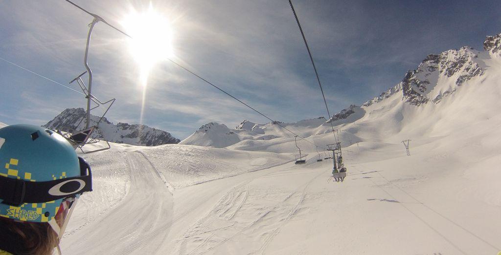 Godetevi le vacanze sulla neve delle Alpi