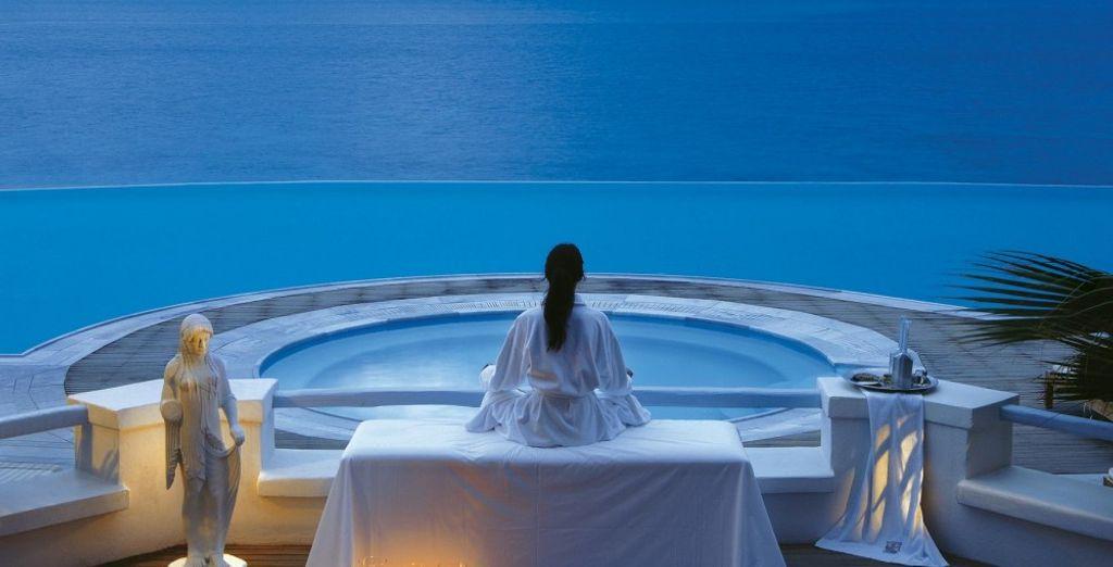 Momenti di puro relax vi attendono presso la spa del resort