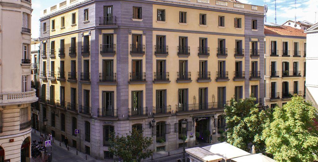Il Radisson Blu Hotel Madrid Prado 4* vi apre le sue porte