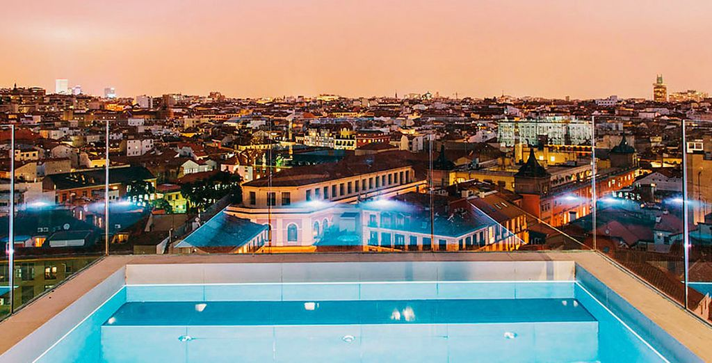 O ammirate la vista dal rooftop