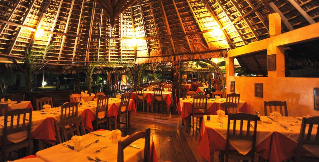 Il ristorante vi aspetta per farvi gustare ottimi piatti internazionali