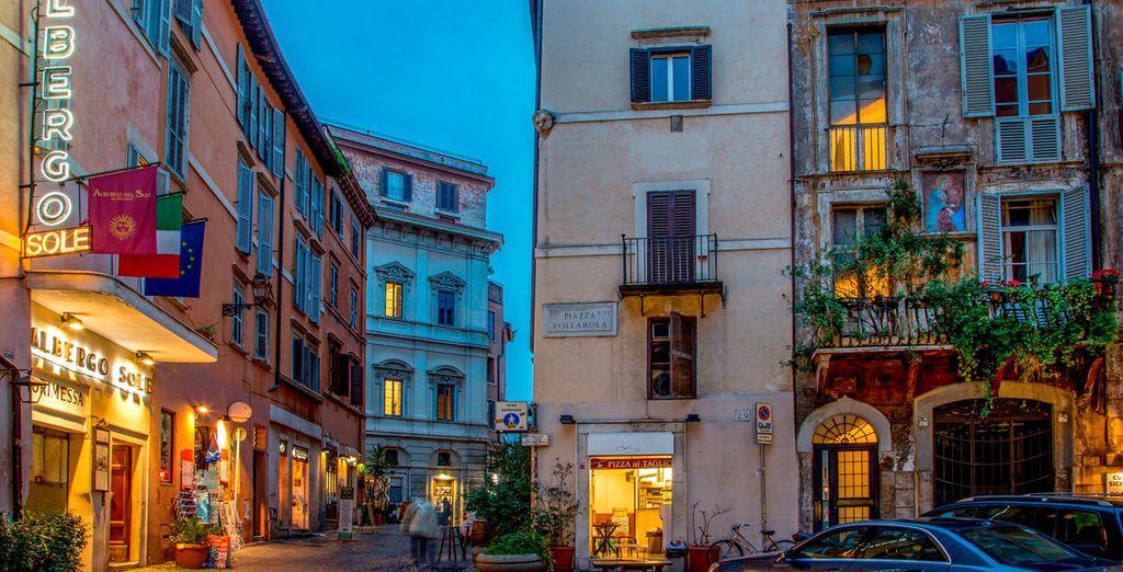 L'Hotel Sole Roma vi sta aspettando
