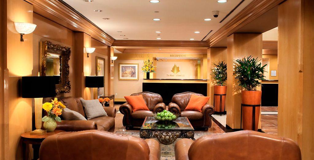 Il vostro lussuoso hotel nel cuore della Grande Mela