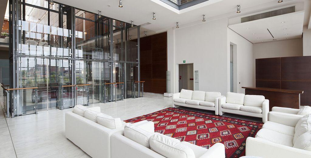 ampi spazi e arredi di design