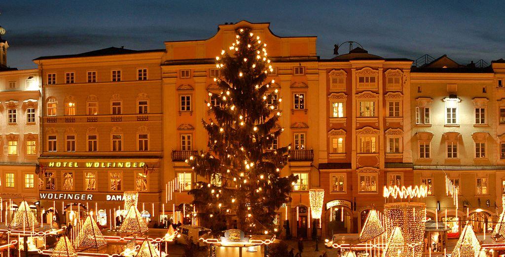 Linz e la magia del Natale vi sorprenderà