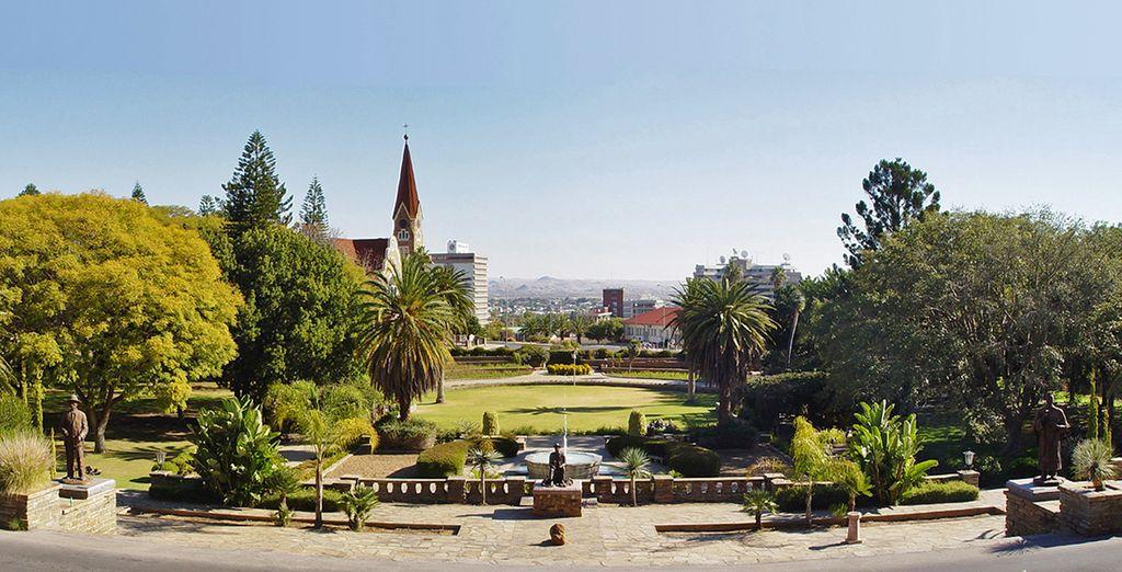 La prima tappa è Windhoek