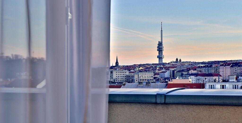 Ammirate i fantastici panorami dalla vostra camera
