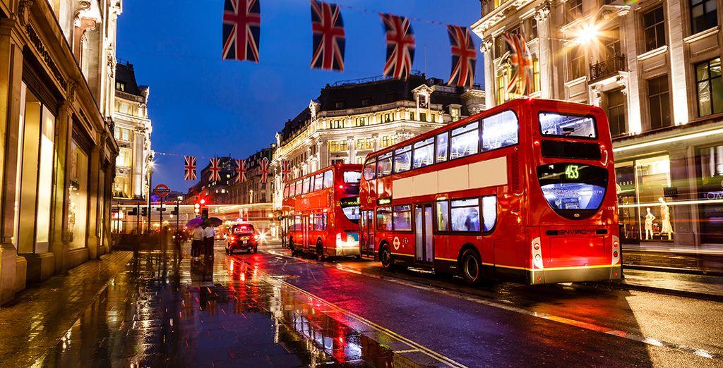 Partite per Londra
