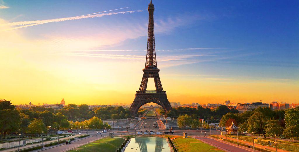 Un soggiorno a due passi dalla Tour Eiffel vi attende